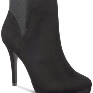 Briea Platform Ankle Booties