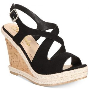 Brielle Espadrille Platform Wedge Sandals