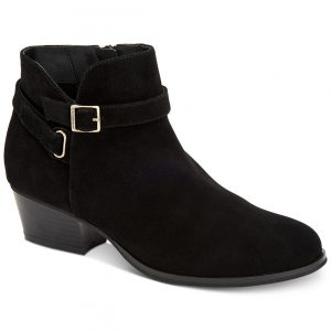 Dorii Memory-Foam Ankle Booties, Created for Macy's