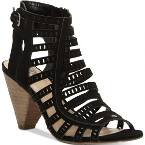 Evalina Cone-Heel Dress Sandals