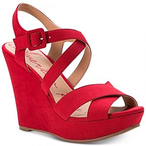 Rachey Dress Platform Wedge Sandals