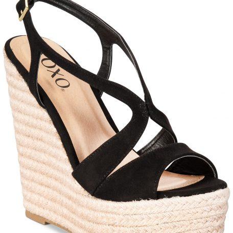 8904fdd26ff Sabeen Espadrille Wedge Platform Sandals