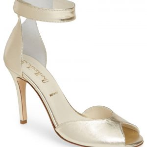 Harissa Metallic Ankle Strap Sandal SOMETHING BLEU